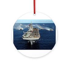 USS Kearsarge - LHD 3 Ornament (Round)