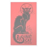 Basement Cat Wants ur Soul - Decal