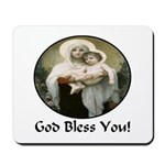 Mary & Child Jesus Mousepad