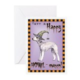 Halloween Bedlington Terrier Cards (10 Pk)