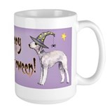 Halloween Bedlington Terrier Mug