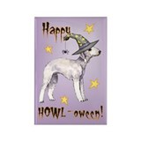 Halloween Bedlington Terrier Rectangle Magnet