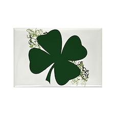 Lucky Irish Clover Rectangle Magnet (100 pack)