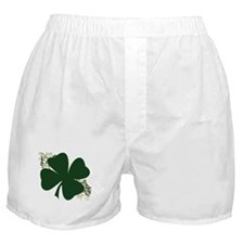 Lucky Irish Clover Boxer Shorts