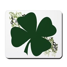 Lucky Irish Clover Mousepad