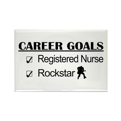 Registered Nurse Career Goals - Rockstar Rectangle