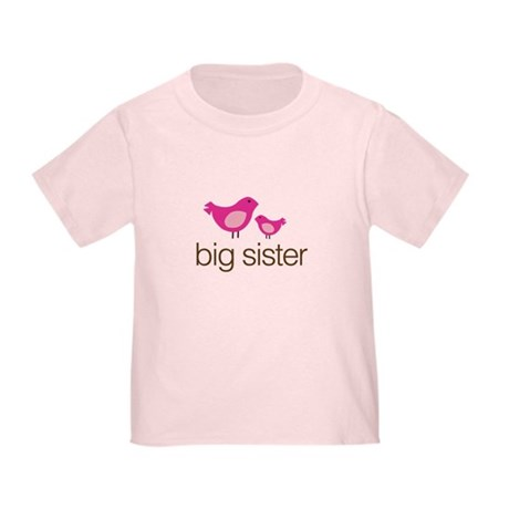 matching big sister t-shirt birdie Toddler