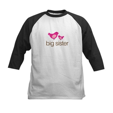 matching big sister t-shirt birdie Kids Baseball J