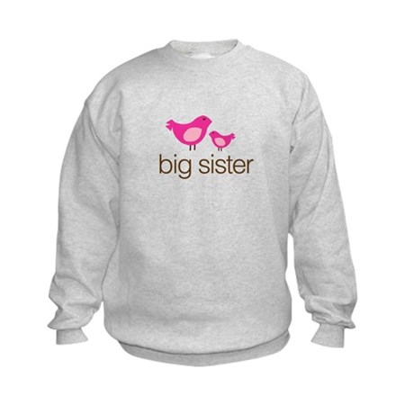 matching big sister t-shirt birdie Kids Sweatshirt