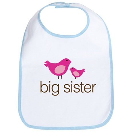 matching big sister t-shirt birdie Bib