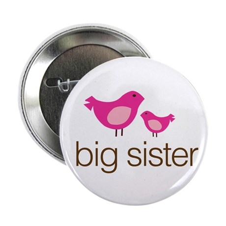 "matching big sister t-shirt birdie 2.25"" Button"