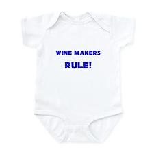Wine Makers Rule! Infant Bodysuit