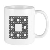 'Sierpinski Carpet' Fractal Coffee Mug