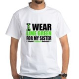 I Wear Lime Green Sister Shirt