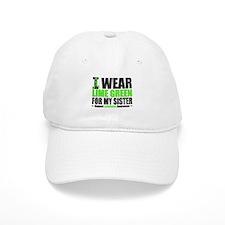 I Wear Lime Green Sister Baseball Cap