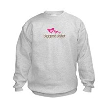 biggest sister t-shirts birdie Sweatshirt