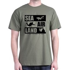 'God's Sea Air Land' T-Shirt