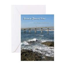 Ocean Beach Pier Greeting Card