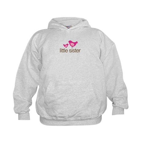 little sister t-shirts matching Kids Hoodie