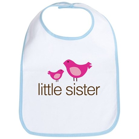 little sister t-shirts matching Bib