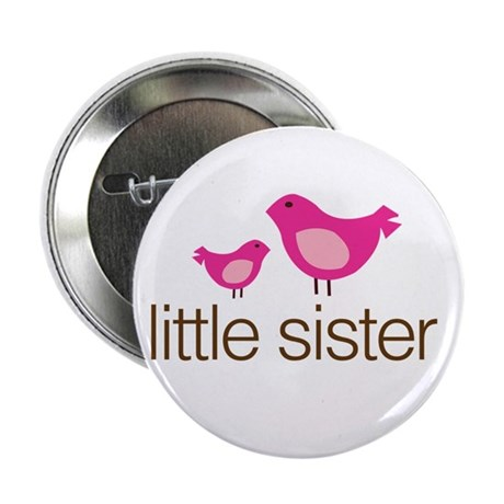 "little sister t-shirts matching 2.25"" Button"