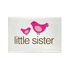 little sister t-shirts matching Rectangle Magnet