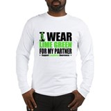 I Wear Lime Green Partner Long Sleeve T-Shirt