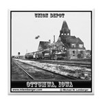 Union Depot Tile Coaster