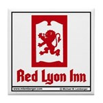 Red Lyon Inn Tile Coaster