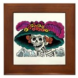 Day of the Dead Framed Tile