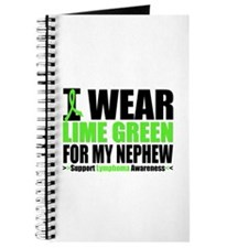 I Wear Lime Green Nephew Journal