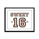 Sweet 16 Framed Panel Print
