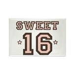 Sweet 16 Rectangle Magnet (100 pack)