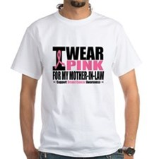 I Wear Pink Mother-in-Law Shirt