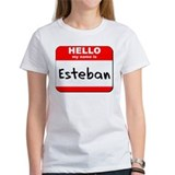 Hello my name is Esteban Tee