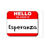 Hello my name is Esperanza Postcards (Package of 8