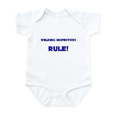 Welding Inspectors Rule! Infant Bodysuit