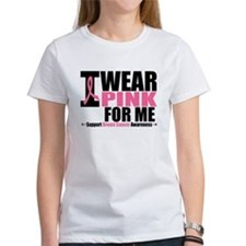 I Wear Pink For Me Tee