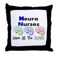 More Nurse Throw Pillow
