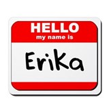 Hello my name is Erika Mousepad