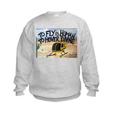 Helicopter in Desert Sweatshirt