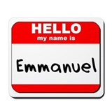 Hello my name is Emmanuel Mousepad