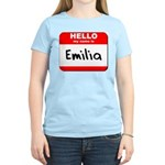 Hello my name is Emilia Women's Light T-Shirt