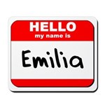 Hello my name is Emilia Mousepad