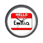 Hello my name is Emilia Wall Clock