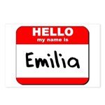 Hello my name is Emilia Postcards (Package of 8)