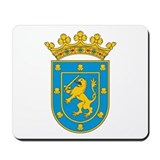 Santiago Coat of Arms Mousepad