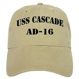 USS CASCADE Casquettes de Baseball