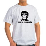 Viva La Evolucion Darwin T-Shirt