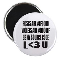 BE MY SOURCE CODE Magnet